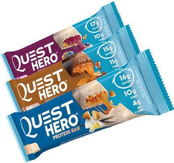 Quest Hero Bars  box of 10