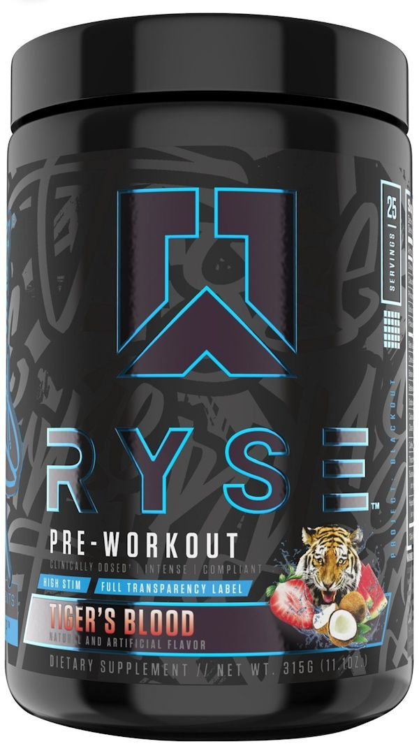 Ryse Black Pre-Workout