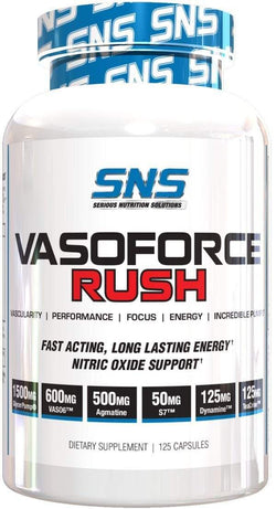 SNS Serious Nutrition Solutions Vasoforce Rush 125 Caps