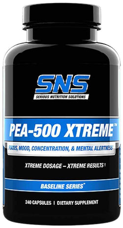 SNS Serious Nutrition Solutions PEA-500 Xtreme 240 caps