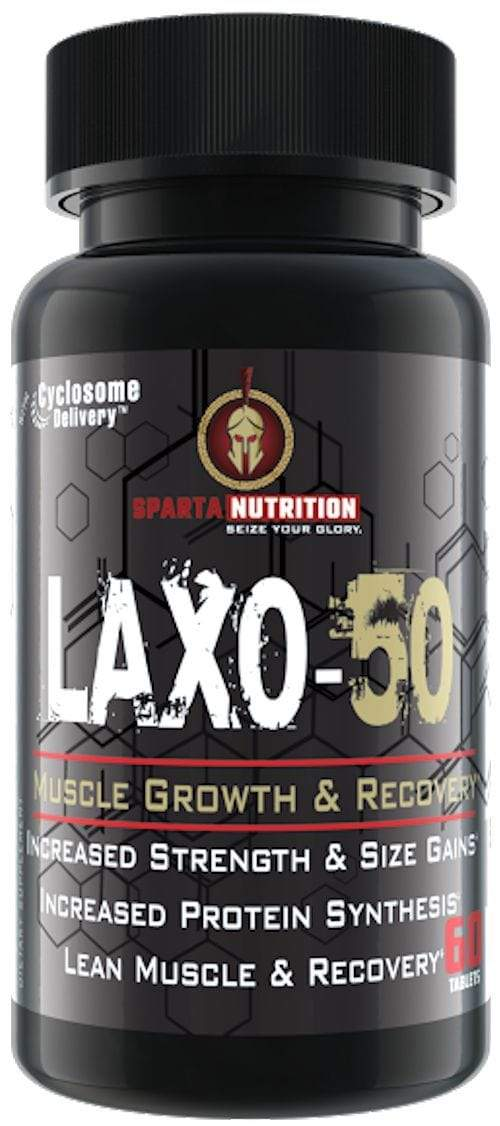 Sparta Nutrition Lean Muscle Sparta Nutrition Laxo-50 60 ct (Code:10off)