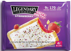 Legendary Foods Tasty Pastry Toaster Pastries (1.7oz 10 Pack)
