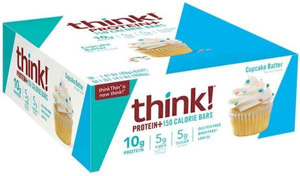 Think Product Bars Think Products Protein+ 150 Calorie Bars 10 box