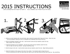 CETMA racks installation instructions.