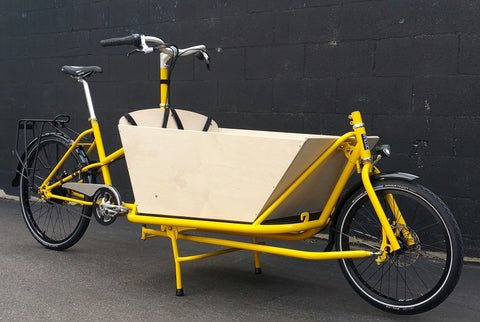 CETMA cargo bike kid carrier