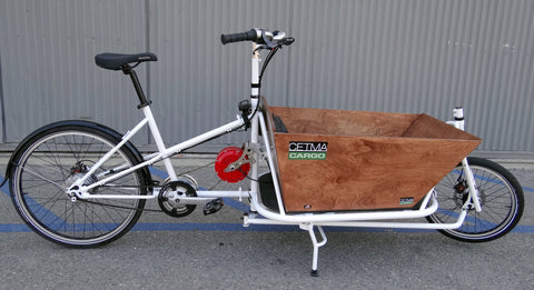 CETMA cargo bike with Stokemonkey e-assist.