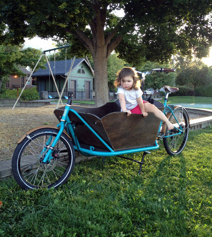 CETMA cargo bike in Ashland, OR.