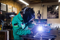 welding at CETMA headquarters