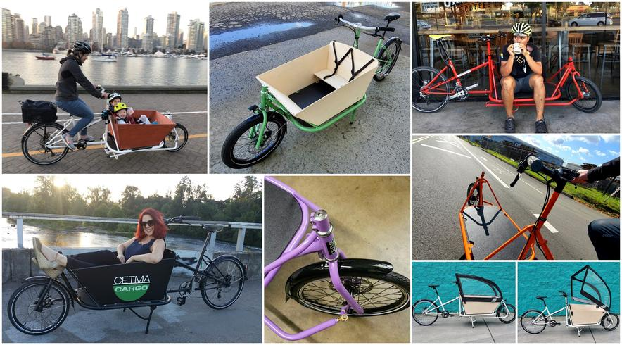 CETMA cargo bikes for families.