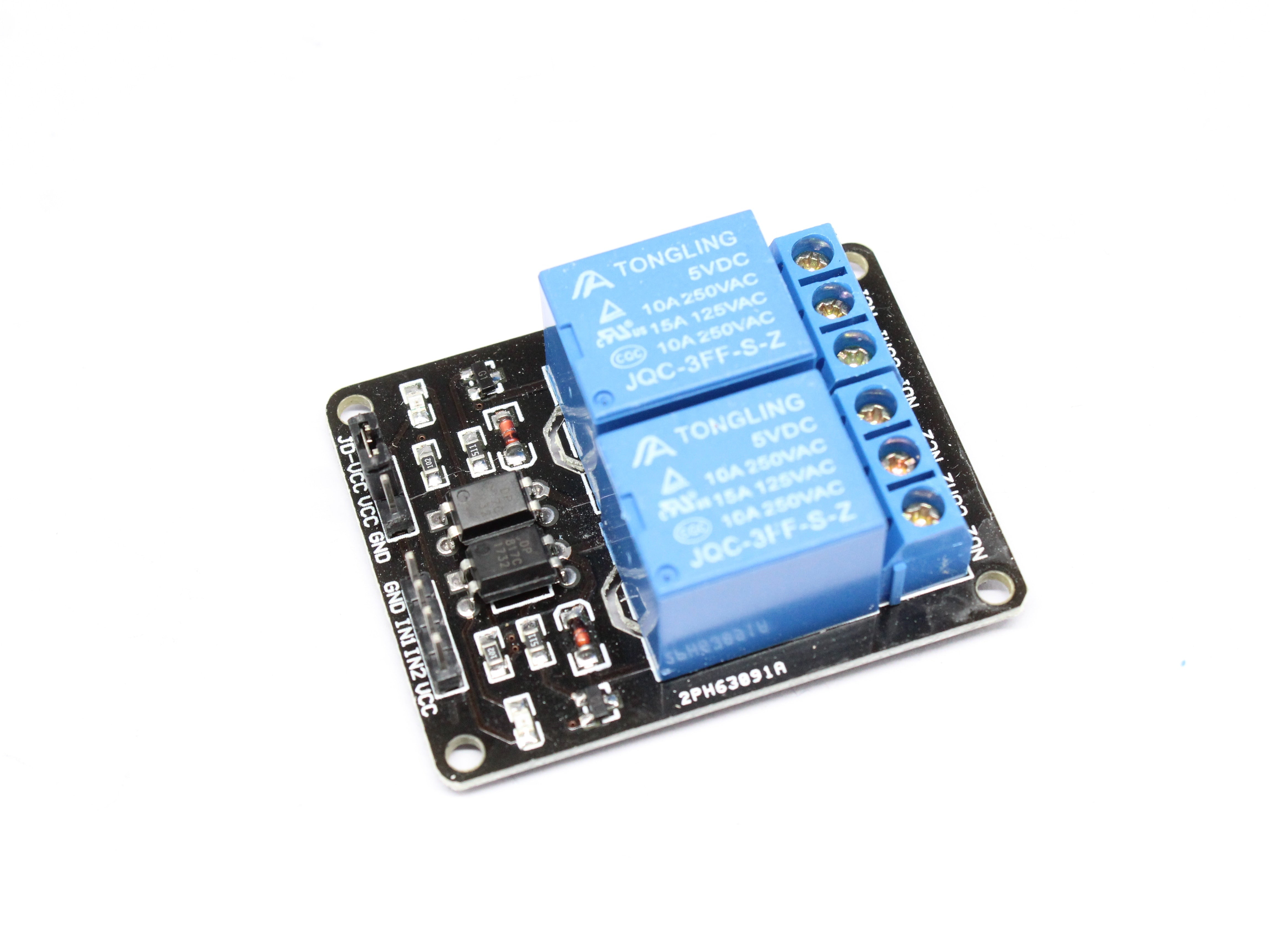 1pcs 5v 12v 1/2/4/6/8 channel relay module with optocoupler for arduino - PICTOROBO