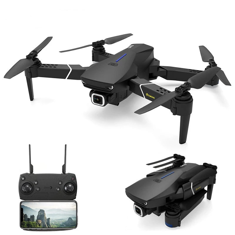 Foldable RC Quad copter Camera Drones GPS WIFI FPV With 4K/1080P HD Wide Angle Camera