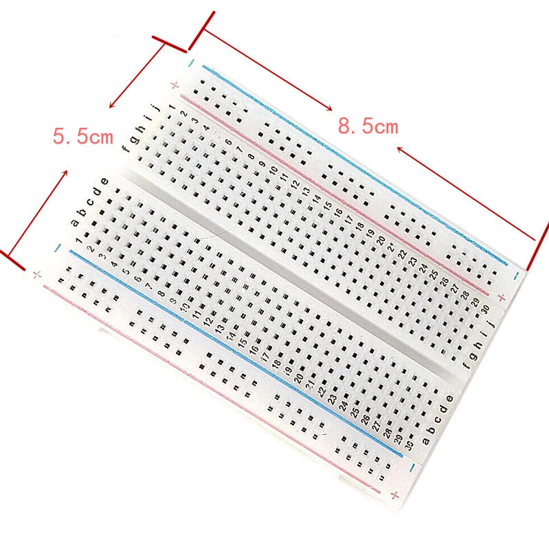400 points Solder less breadboard - PICTOROBO