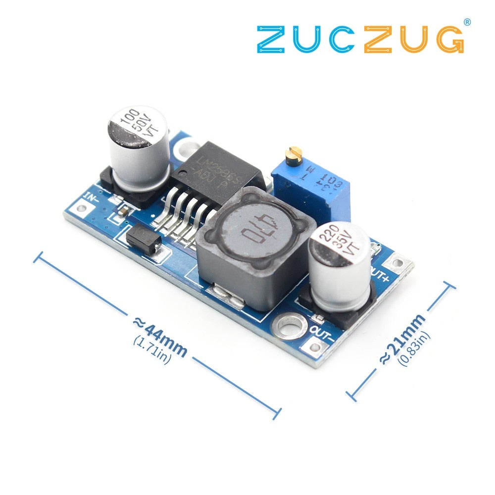 LM2596S DC-DC 3-40V 3A step-down power Supply