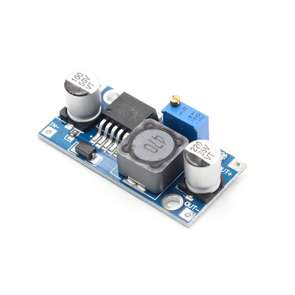 LM2596S DC-DC 3-40V  3A adjustable step-down power Supply module - PICTOROBO