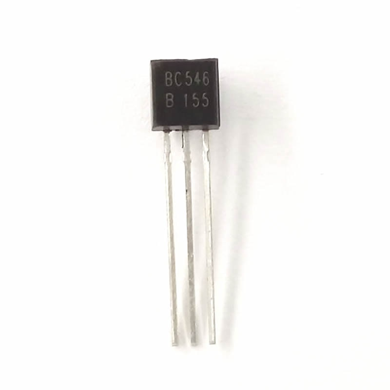 100pcs BC556B bc556 0.1A 65V PNP in-line triode Transistor TO-92
