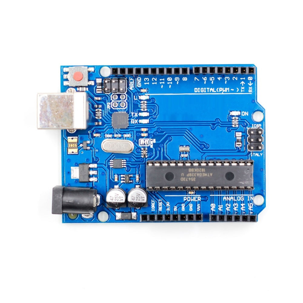 1set UNO R3 MEGA328P ATMEGA16U2 for Compatible without USB Cable - PICTOROBO