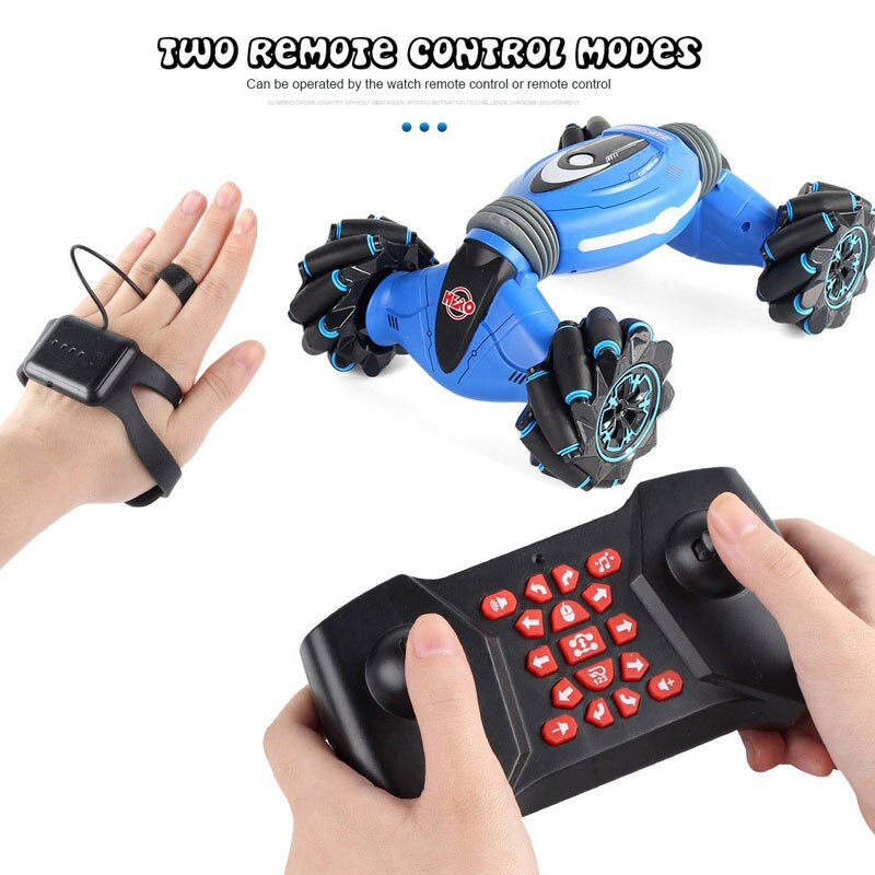 Gesture control Robot Car Dancing Side Driving RC Toy Gift for Kids - PICTOROBO