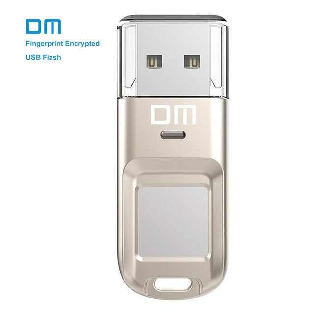 DM™ Fingerprint Encrypted USB Pendrive 32GB / 64GB