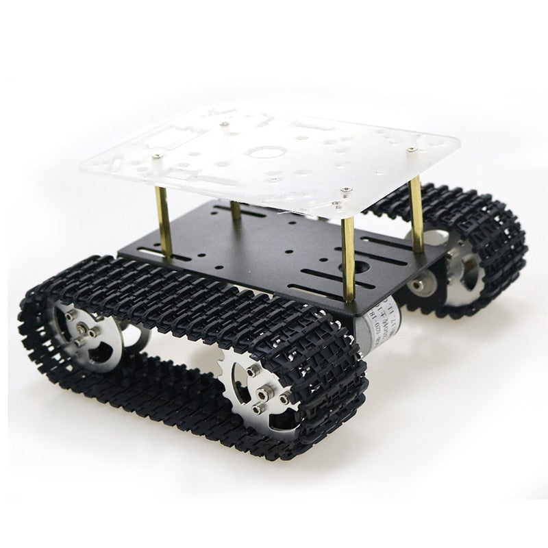 Smart Robot Tank Chassis Tracked Car Platform with 12V 350rpm Motor for Arduino - PICTOROBO