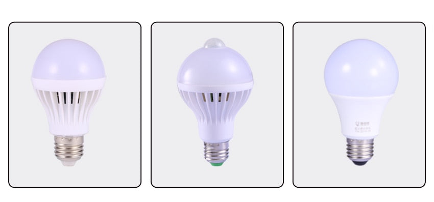Canmeijia™ Motion Sensor LED Voice Control Light Bulb