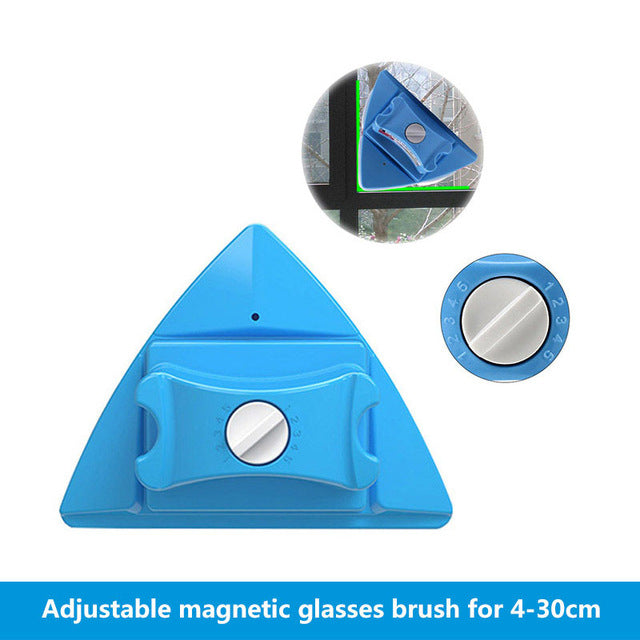 Magnetic Window Cleaner Wiper Double Side Magnetic Brush - PICTOROBO