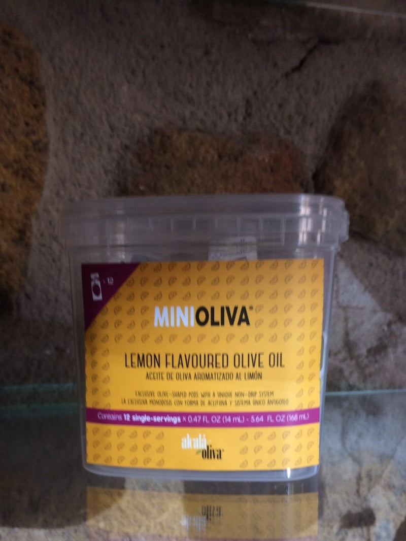 MiniOliva Lemon Infused Extra Virgin Olive Oil