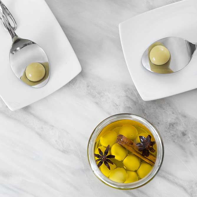 Caviaroli Drops - Spherical Olives Regular Spicy