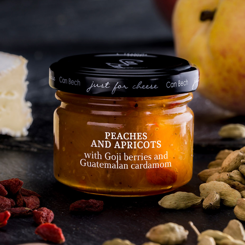 Can Bech Mini Just for Cheese - Peach, Apricot with Goji Berries Sauce
