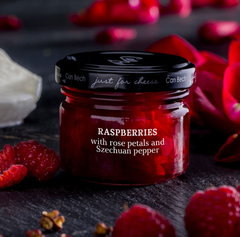 Can Bech Mini Just for Cheese - Raspberry & Rose Petal Sauce