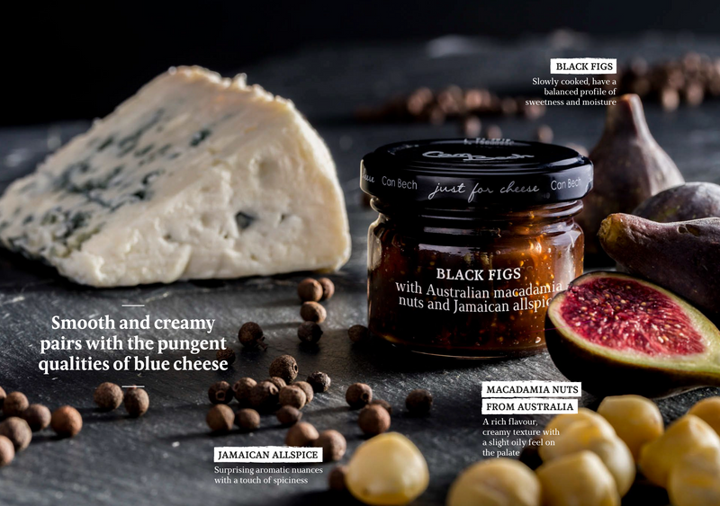 Can Bech Mini Just for Cheese - Black Fig and Macadamia Sauce