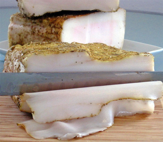 Ibérico de Bellota Seasoned Lardo