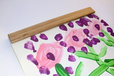 Easy Snap Art Display Rail