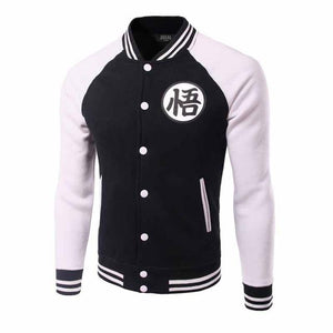 Brand Dragon Ball Baseball Jacket Men 2016 Mens Anime Comic Cosplay Varsity Jackets Autumn Fleece Cotton Jacket Veste Homme-cgabuy