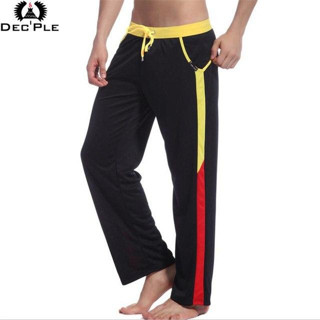 2017 Brand High quality Brand men pants trousers low waist drawstring casual fashion loose pants for men breathable quick dry-cgabuy