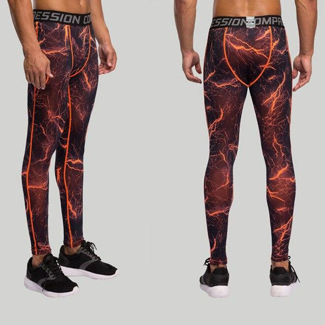 Compression Pants Man Trouser Crossfit Pants Hight Elasitc Fitness Bodybuilding Pants Quick Dry 2017 Skinny Legging ZOOTOP BEAR-cgabuy