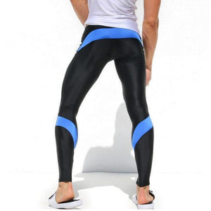 Mens Workout Fitness Compression Leggings Pants Bottom MMA Men Crossfit Weight Lifting Bodybuilding Skin Tights Trousers M-XXL-cgabuy
