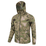 Men Summer lightweight Jacket Skin Tactical Thin Waterproof Quick Dry Raincoat Military Jacket Camouflage Breathable Windbreake-cgabuy