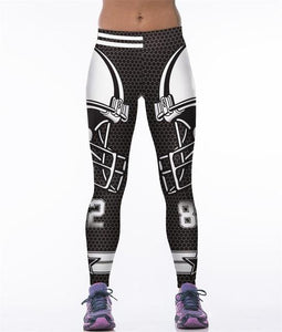 Dropshipping Men Woman Cowboys Tights Pant 3D Printed Fitness Dallas Pants Leggings Tights Trousers MMA UFC BJJ Rashguard Pant-cgabuy