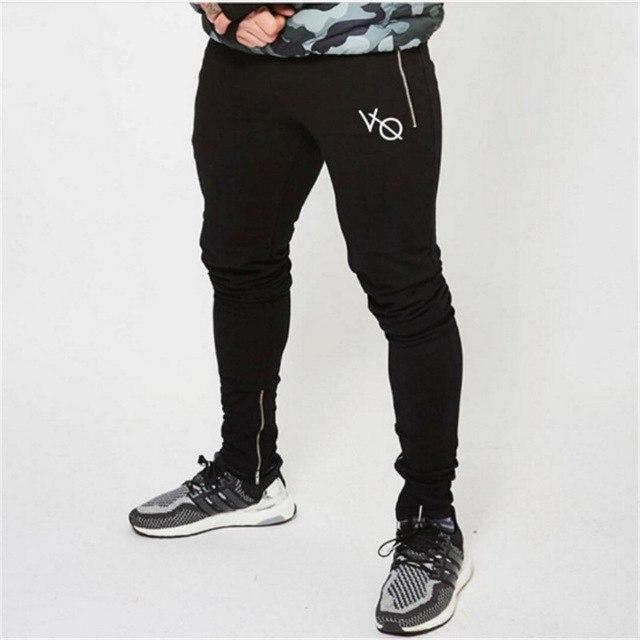 2017 New Fashon Fitness Long Pants Men Casual Sweatpants Baggy Jogger Trousers Fashion Fitted Bottoms Streetwear Pants-cgabuy