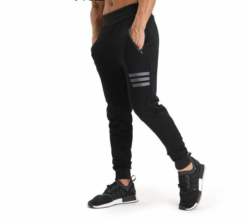 2017 GYMS New Men Pants Compress Gymming Leggings Men Fitness Workout Summer Sporting Fitness Male Breathable Long Pants-cgabuy