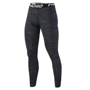 Men compression Quick-dry leggings gyms Fitness bodybuilding Brand male workout trousers Joggers elasticity Tight pants-cgabuy