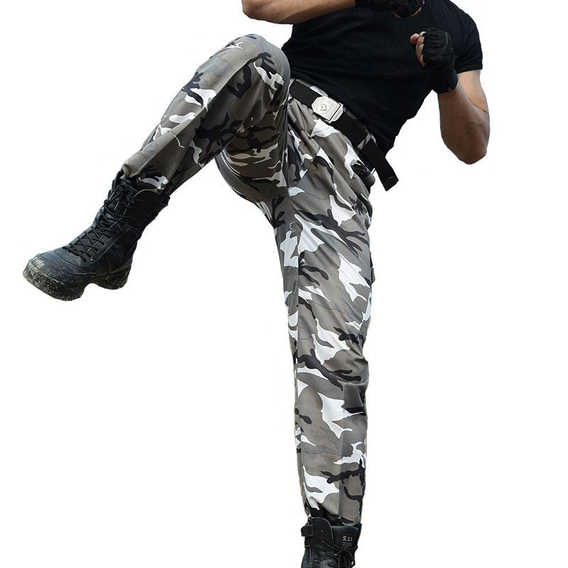 Military Tactical Camo Cargo Pants Men Military Style Combat Pants Army Active SWAT Camouflage Pants Men Casual Cargo Trousers-cgabuy