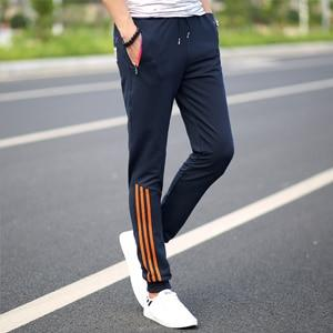 2018 New Fashion Tracksuit Bottoms Mens Casual Pants Cotton Sweatpants Mens Joggers Striped Pants Gyms Clothing Plus Size 5XL-cgabuy