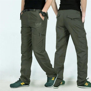 New Spring Quick Dry Cargo Pants Men Army Military Elastic Breathable Trekking Waterproof Trousers Tactical Pants Men Sweatpants-cgabuy