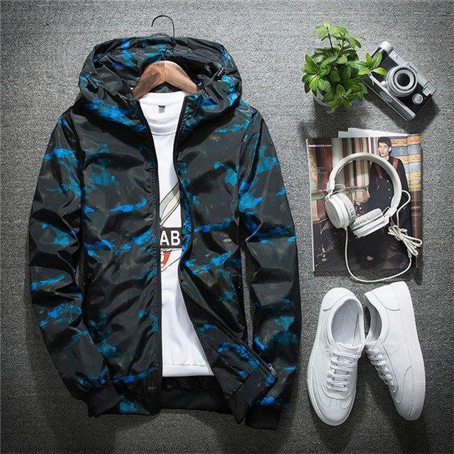 Mountainskin Spring Men's Casual Jackets Fashion Camouflage Outerwear Men's Coats Male Bomber Jackets Mens Brand Clothing SA404-cgabuy