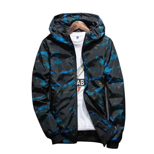 500a2f302 2018 New Military Camouflage Jacket Men Long Sleeve Hooded Jacket Hipeosewe