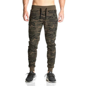 2017 High quality Brand pants Fitness Casual Elastic Pants bodybuilding clothing casual camouflage sweatpants joggers pants-cgabuy