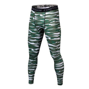 New Black Pants Mens Compression Pants Camouflage Pants Casual Pants Capris Tights Skinny Leggings Bodybuilding Male Trousers-cgabuy