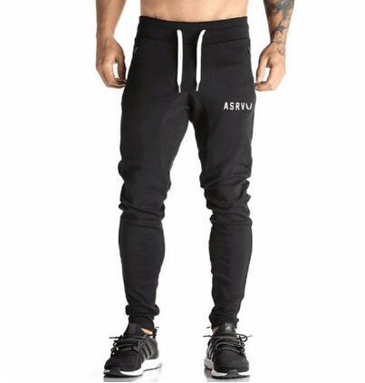 Men's Joggers Pants Fitness Clothing Tracksuits Trousers Slim Fit Workout Pants Male Sweatpants-cgabuy
