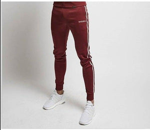SJ 2018 High Quality Brand Clothing Jogger Pants Men Fitness Bodybuilding Pants For Runners Autumn Sweat Trousers Britches-cgabuy